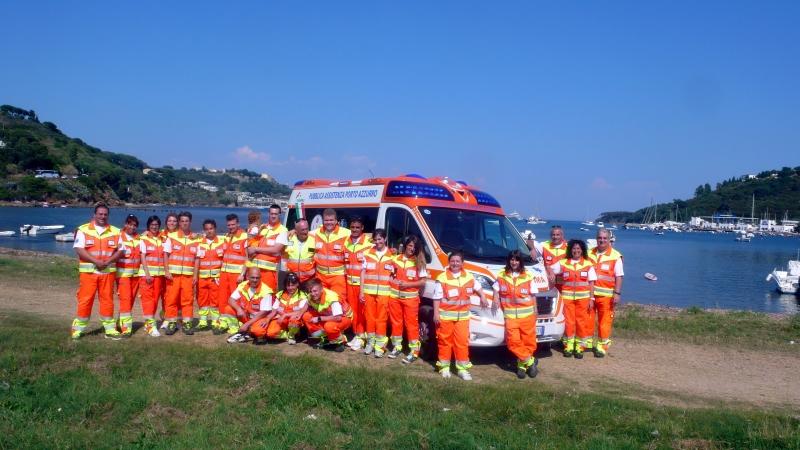 gruppo volontari pubblica assistenza porto azzurro