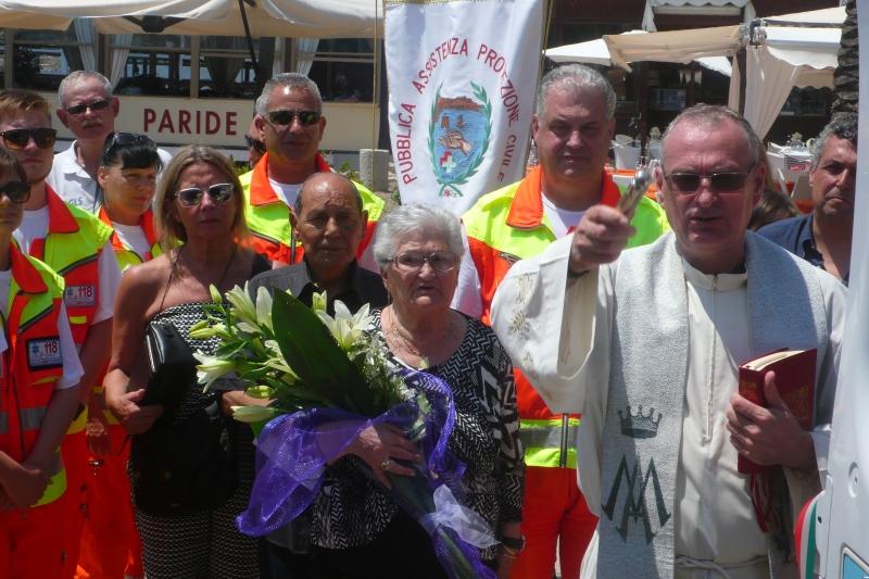 inaugurazione ambulanza 118 pubblica assistenza porto azzurro