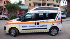 Pulmino Sociale Doblo pubblica assistenza porto azzurro
