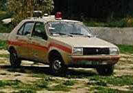 auto renault AIB della Pubblica Assistenza Porto Azzurro