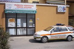 sede della pubblica assistenza porto azzurro