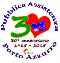 logo festa pubblica assistenza porto azzurro