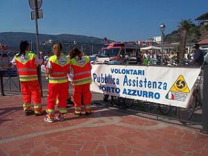 volontari pubblica assistenza porto azzurro