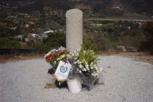 Targa ricordo incendio Sant Ilario Isola d 'Elba