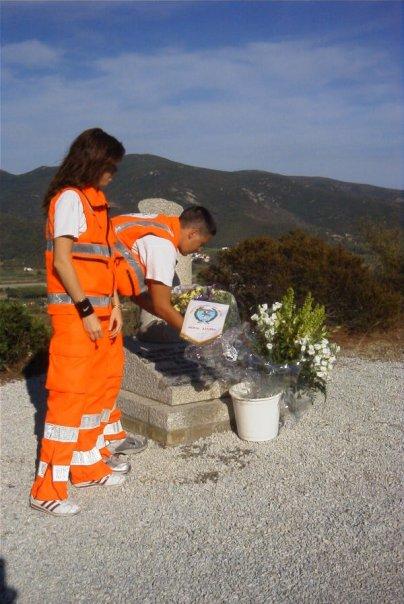 Sant Ilario ricordo della pubblica Assistenza Porto Azzurro del 6 Agosto 1985