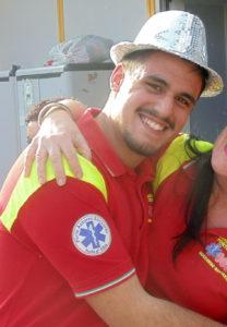 Luca Mariani nel Servizio Civile della Pubblica Assistenza Porto Azzurro