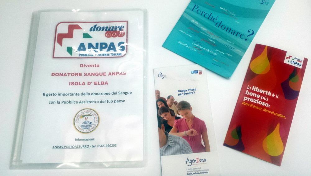 Donatori Sangue ANPAS Pubblica Assistenza Porto Azzurro
