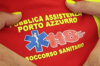 logo della Pubblica Assistenza Porto Azzurro