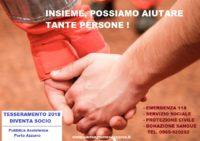 Tesseramento Soci Pubblica Assistenza Porto Azzurro