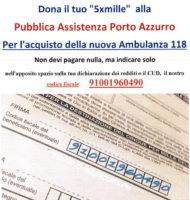 5x1000 per la pubblica assistenza Porto Azzurro