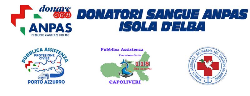 Donatori Sangue Anpas Isola d'Elba