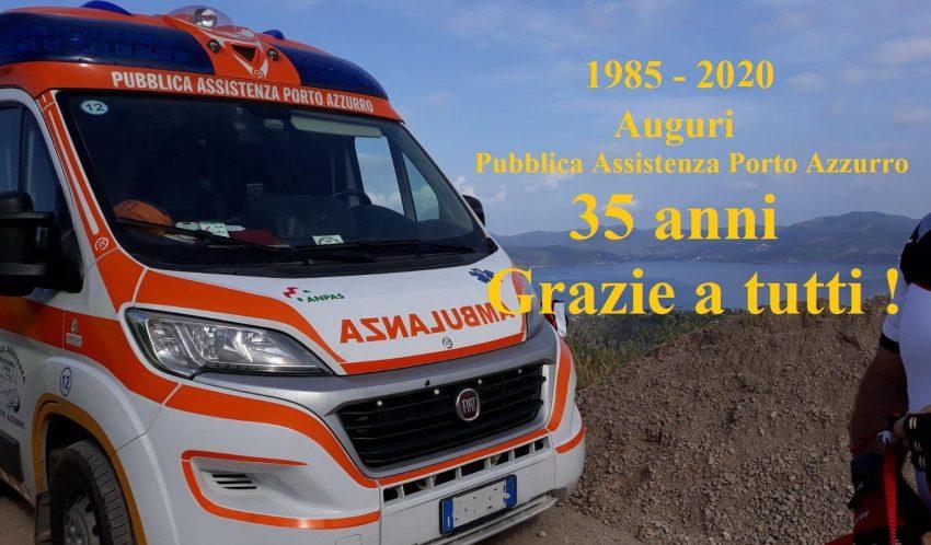 35 anni della Pubblica Assistenza Porto Azzurro