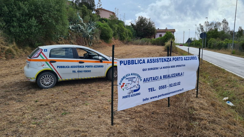 nuova sede operativa Pubblica Assistenza Porto Azzurro