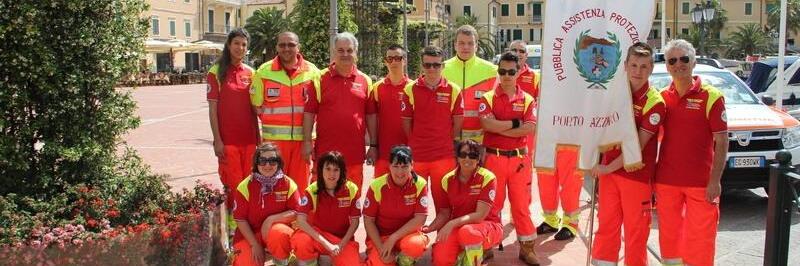Gruppo volontari della Pubblica Assistenza Porto Azzurro