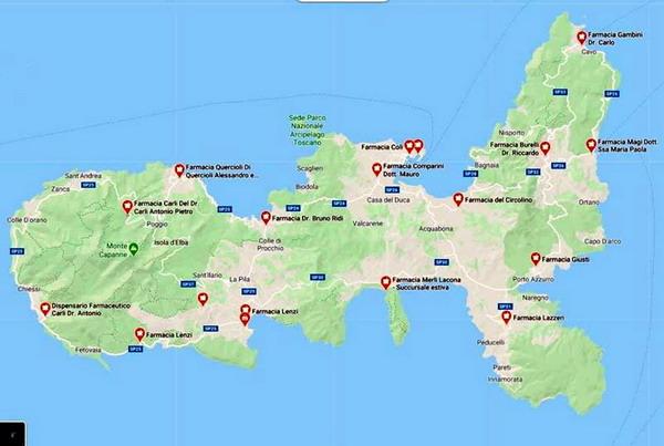 farmacie isola d'Elba
